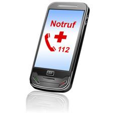 Notruf 112 über Handy anrufen