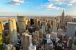 Fototapete York - Manhattan - Gebäude