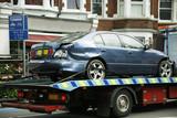 Fototapety Crashed car