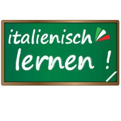 Tafel - italienisch Lernen