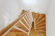 Leinwandbild Motiv Treppe von oben 3