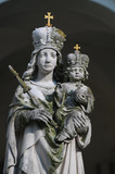 Marian pilgrimage site poster
