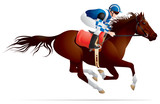 Derby, Equestrian sport horse and rider 3 poster