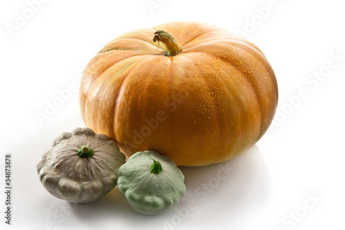 pumpkin and patisson