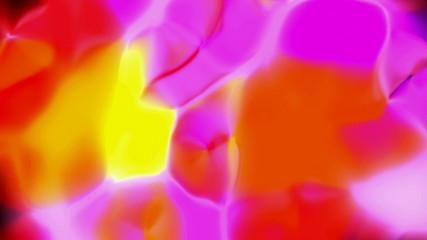 Looping Abstract Splashing Animation
