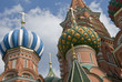 St Basil Cathedral on Red Square in Moscow