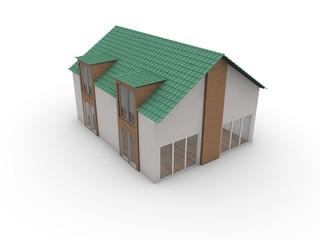 3d Haus, Immobilie, Architektur