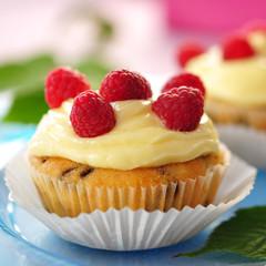 Himbeer-Cupcake