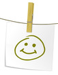 Notizzettel Smiley