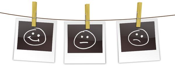 Polaroids Smileys