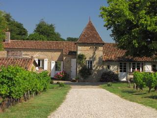 Château, manoir ; Pays de Sauternes ;  Aquitaine