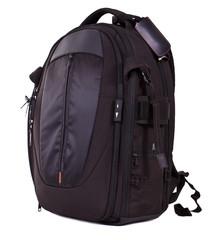 Black photo knapsack