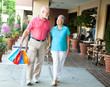 Shopping Seniors - Carrying Her Bags