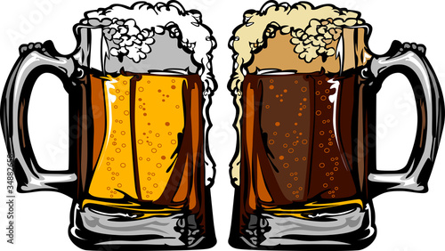 Beer or Root Beer Mugs