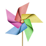 Fototapety windmill recycled papercraft