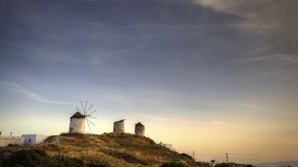 Three Windmills on Naxos