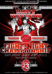 Freefight Plakat Flyer