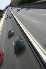 Road Traffic in Frankfurt, Germany