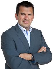 Homme d'affaires, confiant et dynamique (30-40 ans) #1