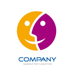 Logo double-sided # Vector