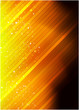 Glowing shiny abstract background