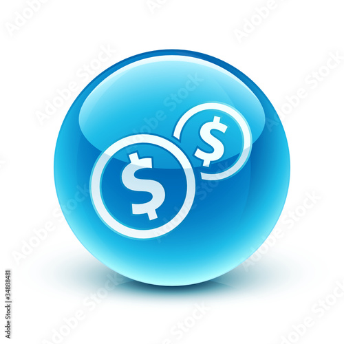 icône dollar argent finance / dollar icon
