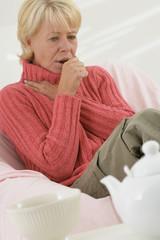 Femme - État grippal,refroidissement