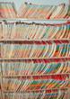 Medical Records folders.