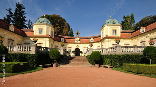 castle Buchlovice in Czech republic