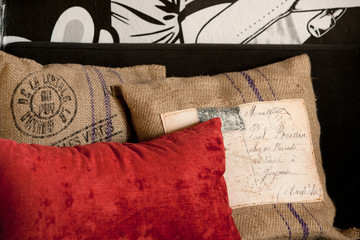 Pillow layout