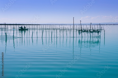 Albufera Valencia lake wetlands mediterranean
