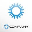 Logo sun and ice # Vector