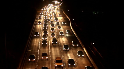 Traffic 16 - Night Real time