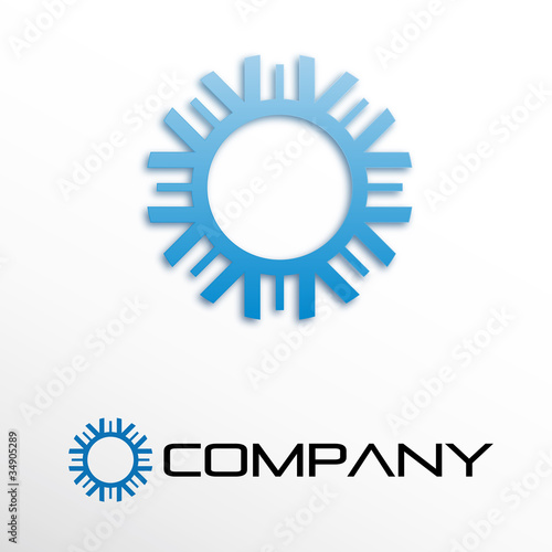 Logo sun and ice # Vector
