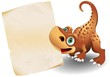 Dinosauro Cucciolo Carta-Baby Dinosaur Paper Background