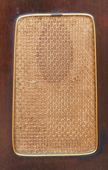Old Loudspeaker Fabric Pattern