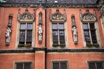 Historische Fassade in Breslau (Wroclaw)