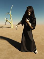 Beckoning Figure of Death