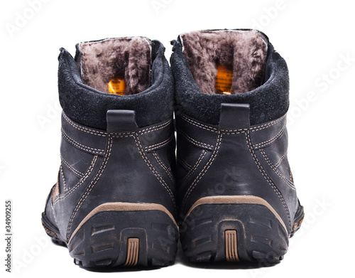 Pair of man autumn boots