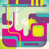 Creative illustrated abstraction