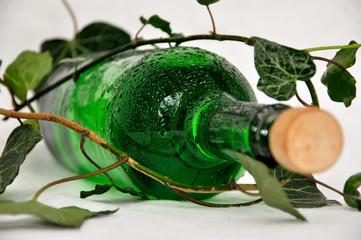 Weißweinflasche