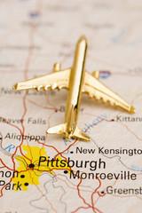 Plane Over Pittsburg