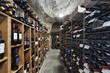 Italy, Sicily, Ragusa, wine cellar