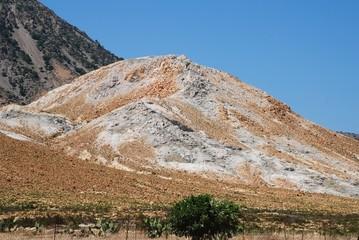 Volcanic rock formations, Nisyros island