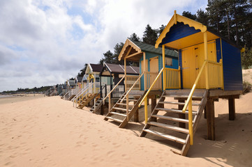 Traditional Beach Huts
