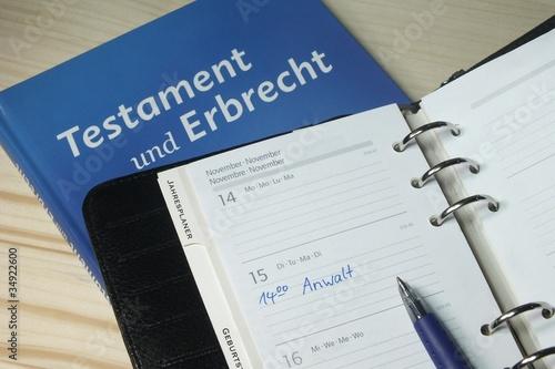 Testament und Erbrecht - 34922600