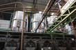 interior of a sugar mill