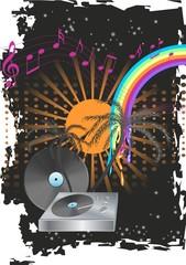 Tropische Sommernacht mit Musik