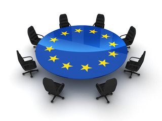 Circle table EU