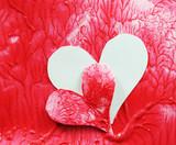 Heart transplant concept poster